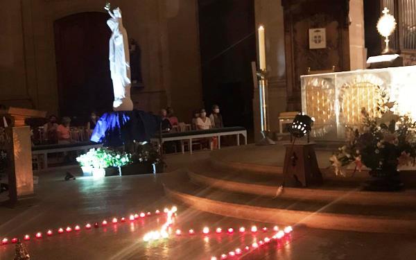 M de Marie à la cathédrale