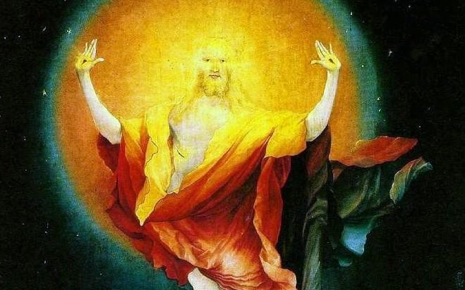Christ sortant du tombeau